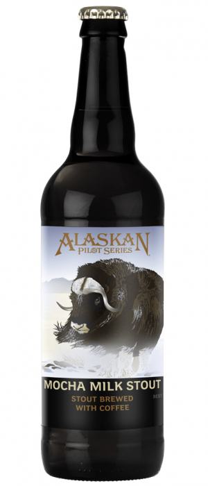 Mocha Milk Stout by Alaskan Brewing Company in Alaska, United States