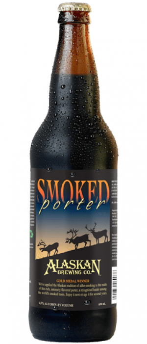 Smoked Porter by Alaskan Brewing Company in Alaska, United States