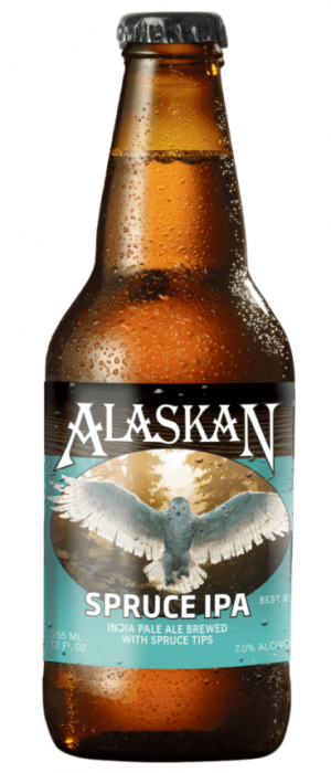 Spruce IPA by Alaskan Brewing Company in Alaska, United States