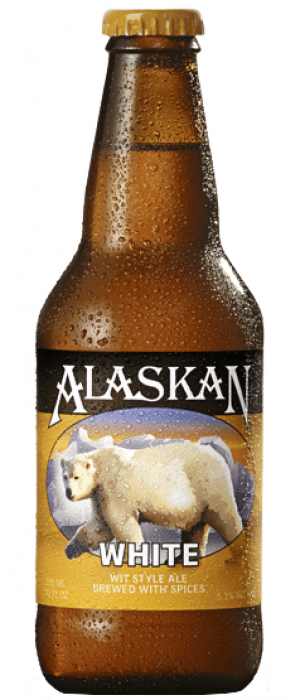 White by Alaskan Brewing Company in Alaska, United States