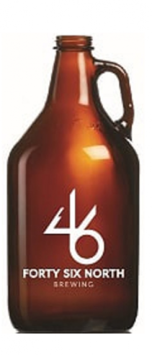 Albatross Lagered Ale by 46 North Brewing in Ontario, Canada