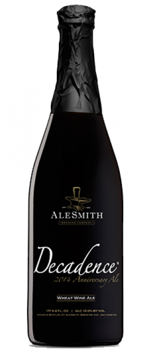 2015 Decadence by AleSmith Brewing Co in California, United States