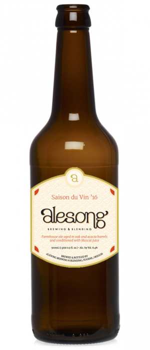 Saison du Vin '16 by Alesong Brewing & Blending in Oregon, United States