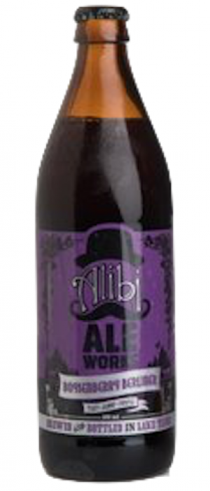 Boysenberry Berlinerweisse by Alibi Ale Works in Nevada, United States