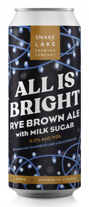 All Is Bright by Snake Lake Brewing Company in Alberta, Canada