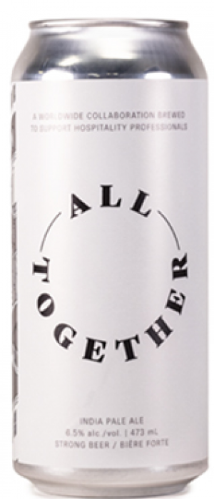 All Together New England IPA by Red Circle Brewing & Coffee in Ontario, Canada