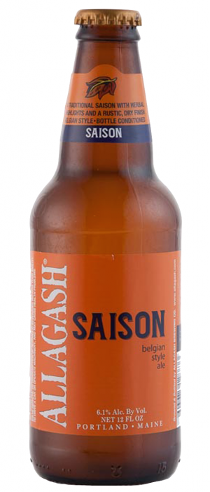 Saison by Allagash Brewing Company in Maine, United States