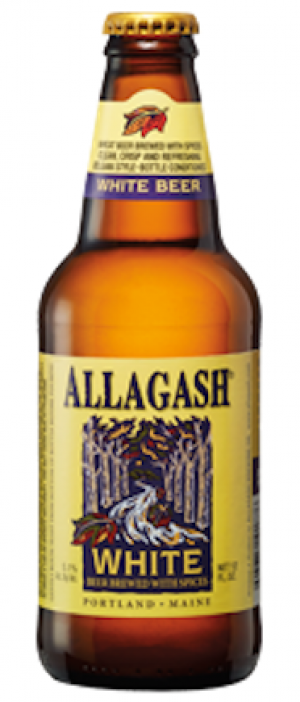 White by Allagash Brewing Company in Maine, United States