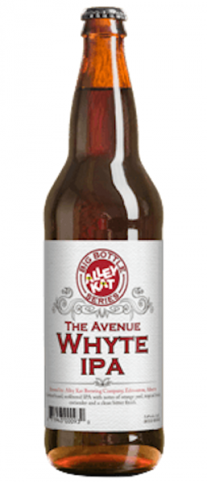 The Avenue Whyte IPA by Alley Kat in Alberta, Canada