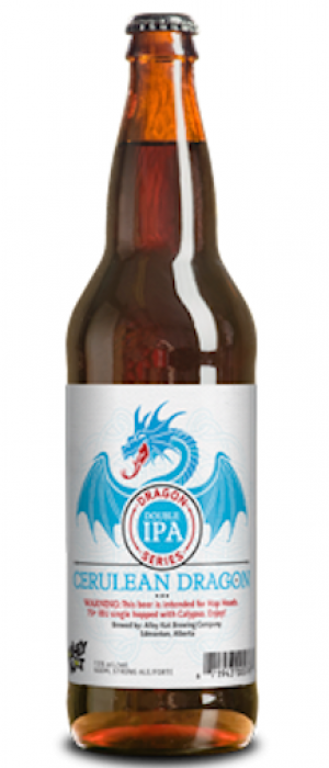 Cerulean Dragon Double IPA