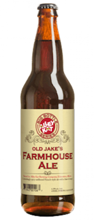 Old Jake's Farmhouse Ale by Alley Kat in Alberta, Canada
