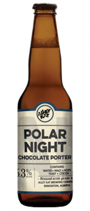 Polar Night Chocolate Porter by Alley Kat in Alberta, Canada