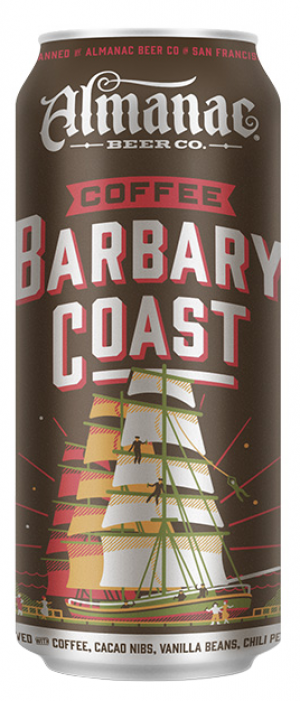 Coffee Barbary Coast by Almanac Beer Co.  in California, United States