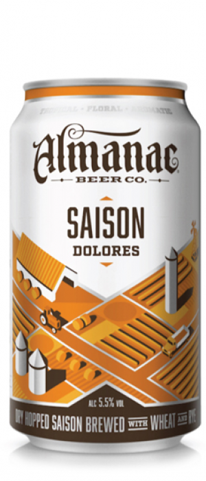 Saison Dolores by Almanac Beer Co.  in California, United States