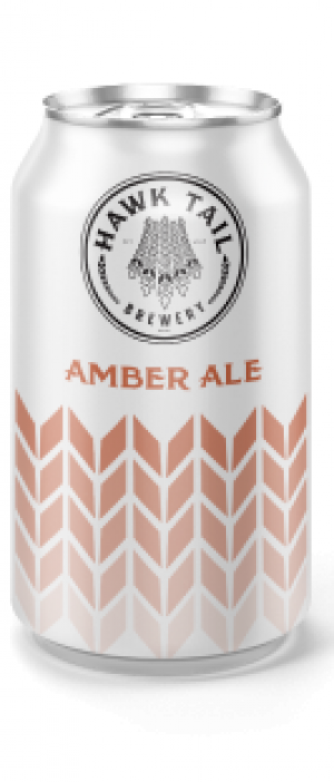 Amber Ale by Hawk Tail Brewery in Alberta, Canada