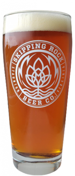 Amber Lager by Skipping Rock Beer Co. in Virginia, United States