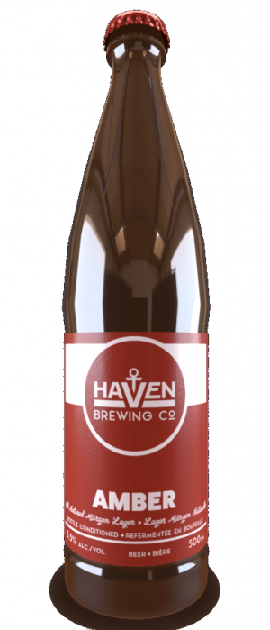 Amber by Haven Brewing Co. in Ontario, Canada