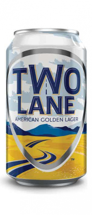 American Golden Lager by Two Lane in Virginia, United States