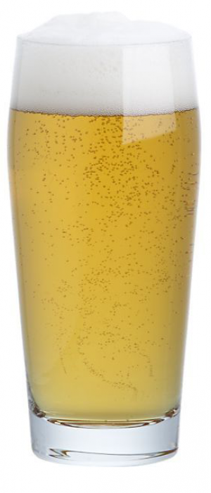 American Lager Garage Beer by Motor City Brewing Works in Michigan, United States