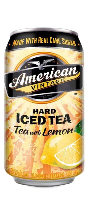 Hard Iced Tea with Lemon