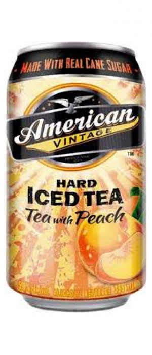 Hard Iced Tea with Peach by American Vintage Beverage Company in Washington, United States