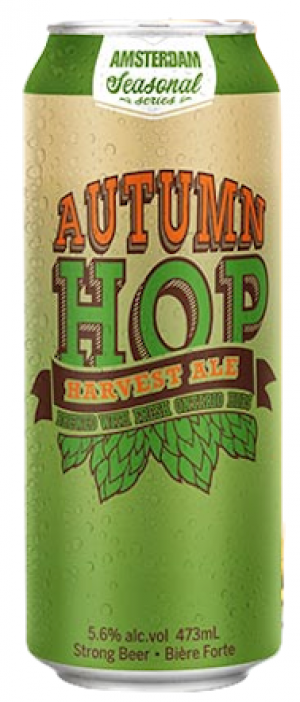Autumn Hop Harvest Ale by Amsterdam Brewing Company in Ontario, Canada