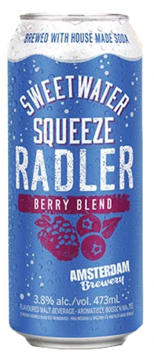 Berry Radler by Amsterdam Brewing Company in Ontario, Canada