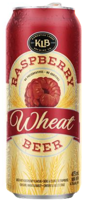 KLB Raspberry Wheat by Amsterdam Brewing Company in Ontario, Canada