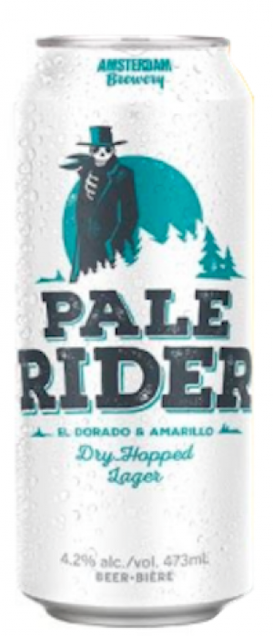 Pale Rider by Amsterdam Brewing Company in Ontario, Canada