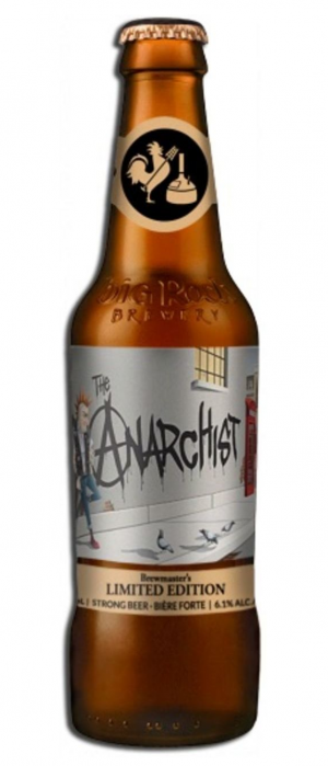 The Anarchist by Big Rock Brewery in Alberta, Canada