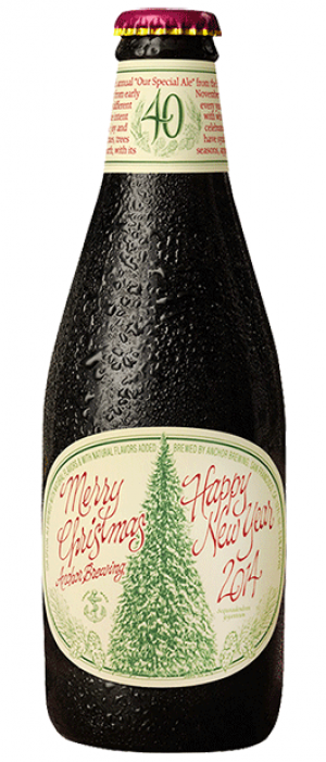 Christmas Ale by Anchor Brewing Company in California, United States