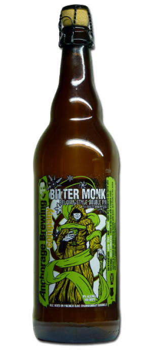 Bitter Monk by Anchorage Brewing Company in Alaska, United States