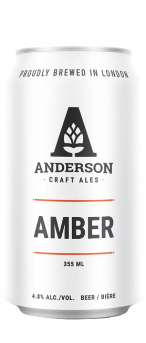 Amber by Anderson Craft Ales in Ontario, Canada