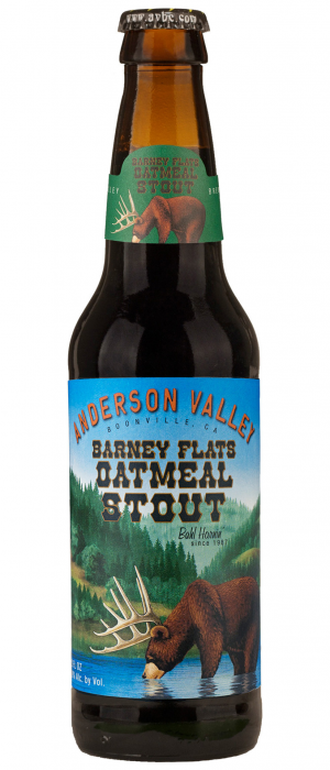 Barney Flats Oatmeal Stout by Anderson Valley Brewing Company in California, United States