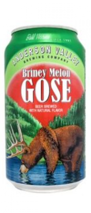 Briney Melon Gose by Anderson Valley Brewing Company in California, United States