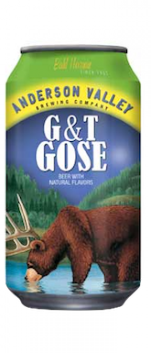 G&T Gose by Anderson Valley Brewing Company in California, United States