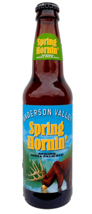 Spring Hornin' Spring IPA by Anderson Valley Brewing Company in California, United States