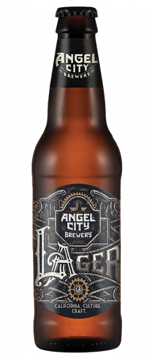 Angel City Lager by Angel City Brewery in California, United States