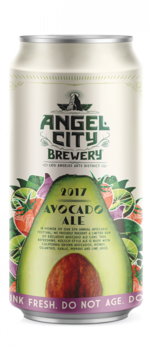 Avocado Ale by Angel City Brewery in California, United States