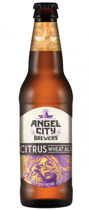 Citrus Wheat by Angel City Brewery in California, United States