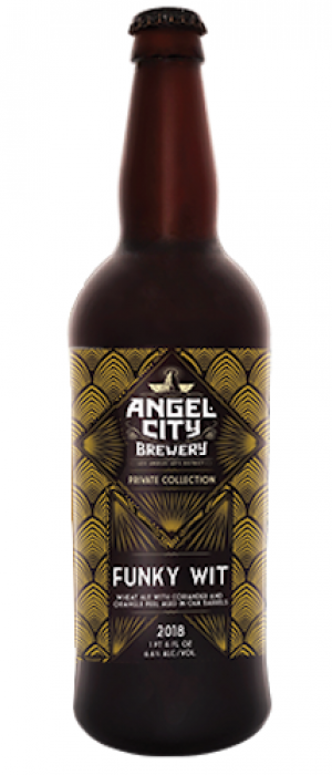 Funky Wit by Angel City Brewery in California, United States
