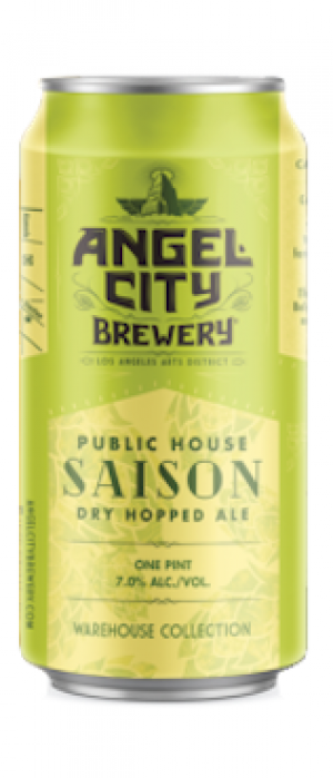 Public House Saison by Angel City Brewery in California, United States