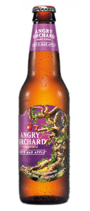 Hop'n Mad Apple by Angry Orchard Hard Cider in New York, United States