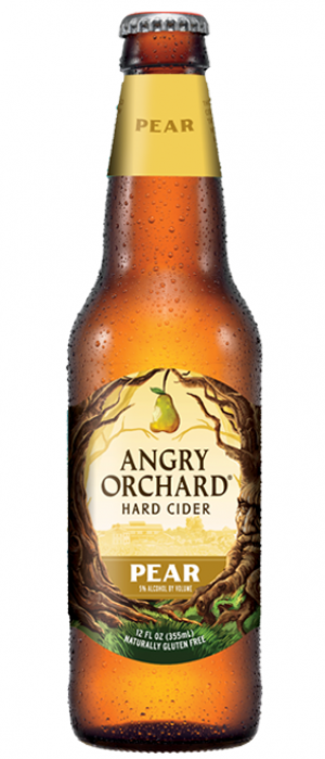 Pear Cider by Angry Orchard Hard Cider in New York, United States
