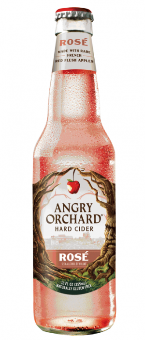 Rosé Cider by Angry Orchard Hard Cider in New York, United States