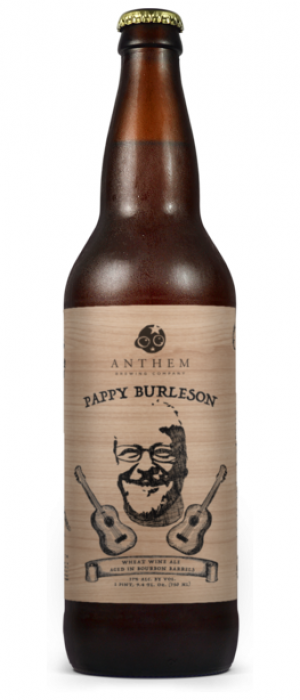 Pappy Burleson by Anthem Brewing Company in Oklahoma, United States