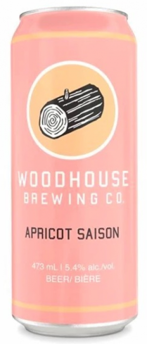 Apricot Saison by Woodhouse Brewing Co. in Ontario, Canada
