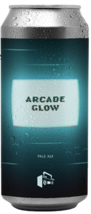 Arcade Glow Hazy Pale Ale by Boombox Brewing Company in British Columbia, Canada