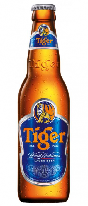 Tiger by Asia Pacific Breweries in Tirana, Albania