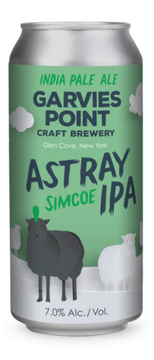 Astray Simcoe IPA by Garvies Point Brewery in New York, United States